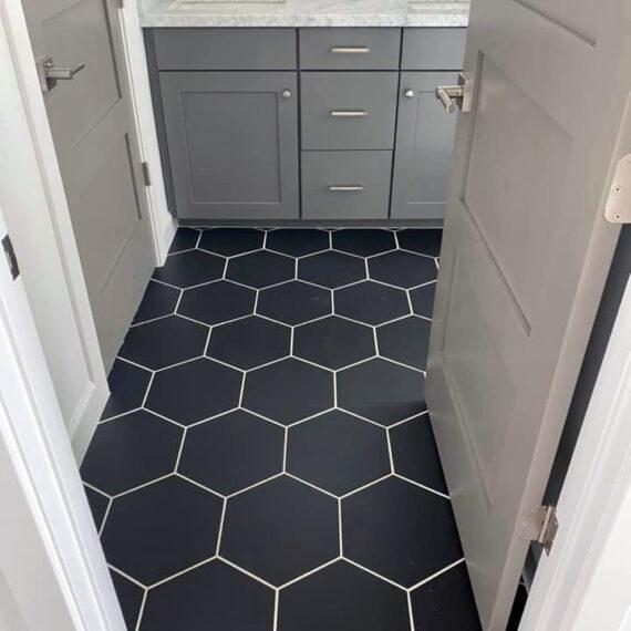Bathroom Tile Install 2